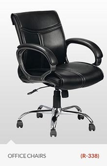 Black-chair-type-office-delhi