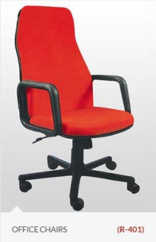 Red-india-list-type-chair